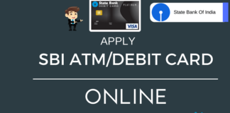 apply sbi atm debit card online