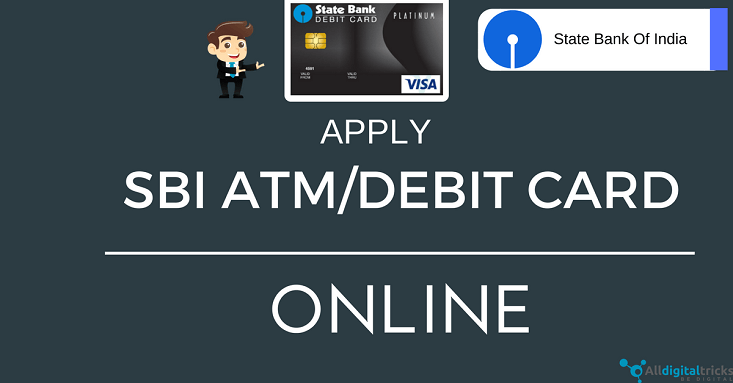 how to apply for sbi atm card through online banking