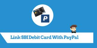link sbi debit card paypal