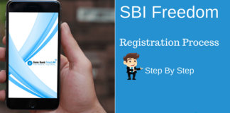 sbi freedom registration proces