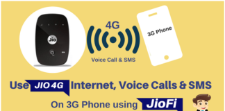 Use Jio 4G SIM on Your 3G Android Phone Using JioFi