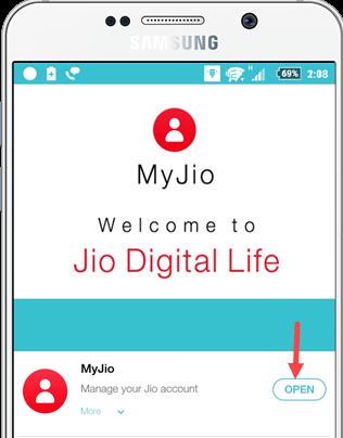 My Jio Application