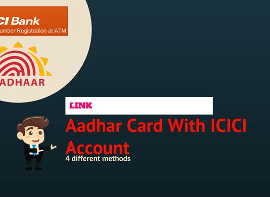 icici aadhaar link