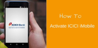 icici imobile activation