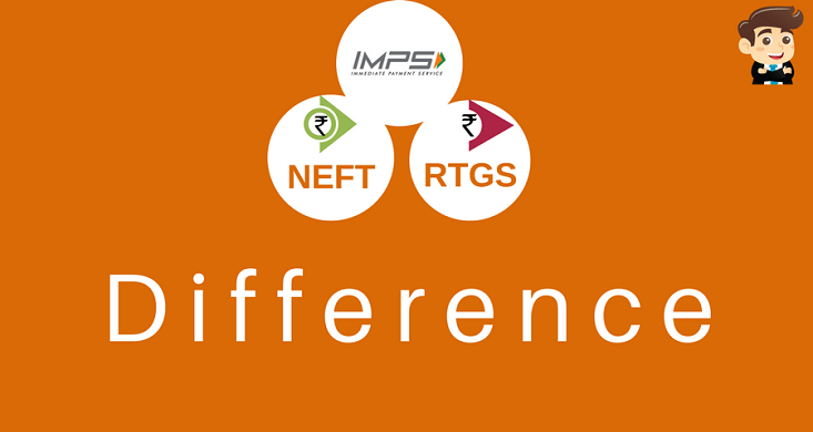 difference between NEFT RTGS IMPS