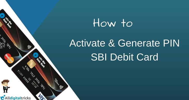 how to register my sbi debit card