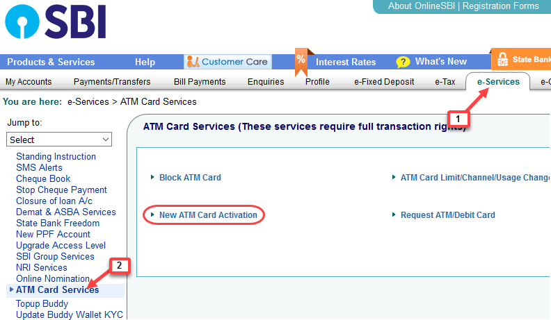 How To Activate SBI AT...