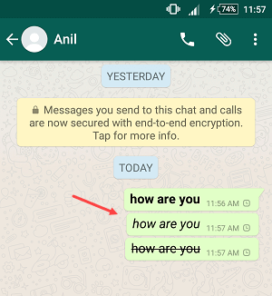 whatsapp format text