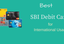 Best sbi debit cards