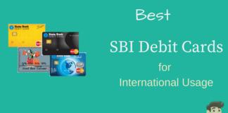 Best sbi debit cards