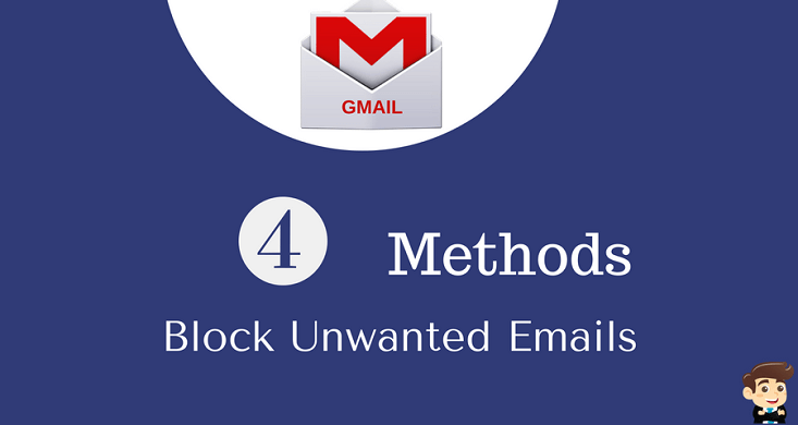 Block unwanted email on gmail