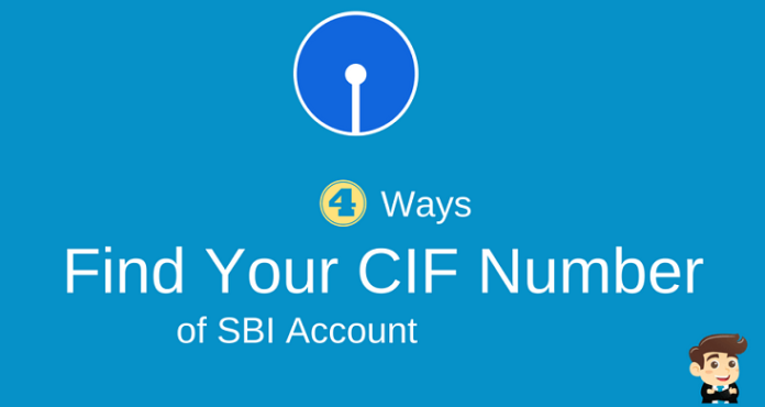 sbi account cif number