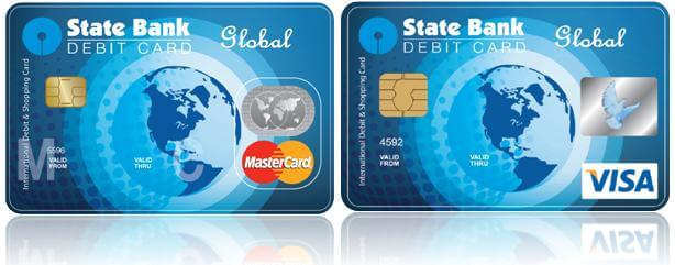 sbi global International Debit card