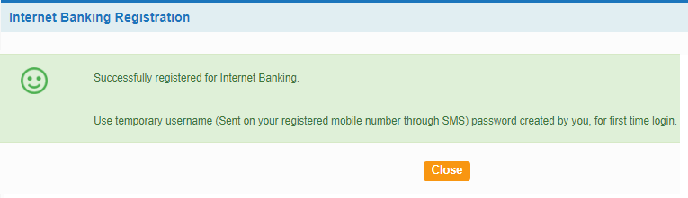 SBI Internet banking online register