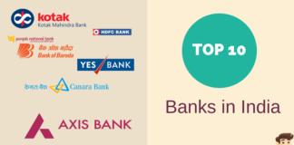top 10 banks india