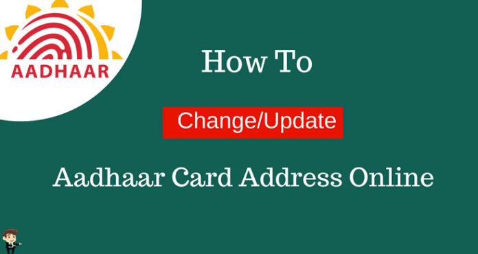 how to do a change of address online