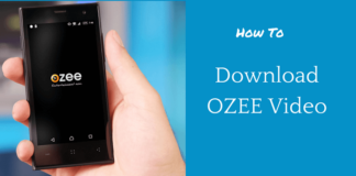 download ozee video