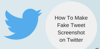 make fake tweet on twitter