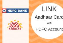 link aadhaar hdfc bank