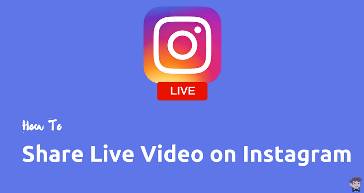 Instagram live video feature