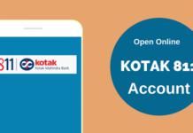kotak 811 account open online