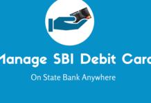 manage debit card sbi anywhere