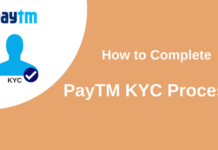 complete paytm kyc