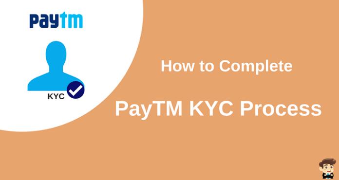 complete paytm kyc