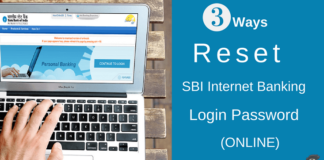 reset sbi netbanking login password