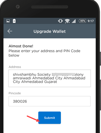 mobikwik wallet upgrade