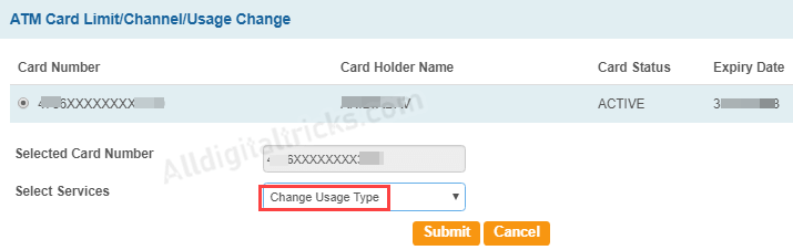 Enable International Usage for SBI Debit Card