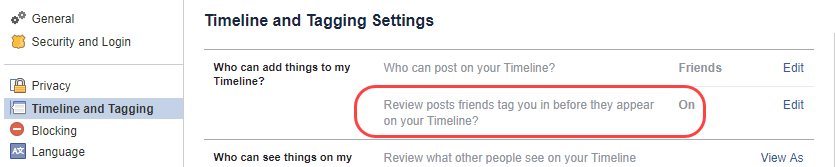 facebook timeline review