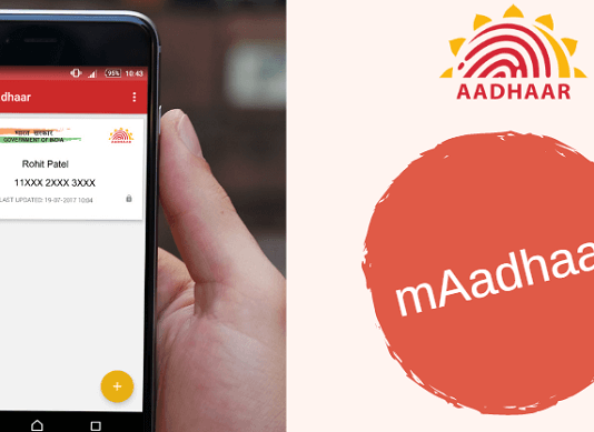 mAadhaar Application