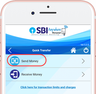 sbi anywhere send money