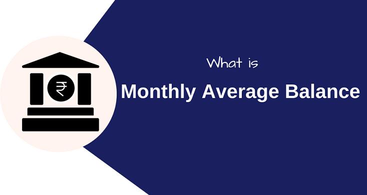 monthly average balance