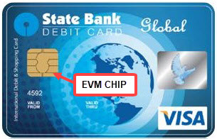 sbi emv chip debit card