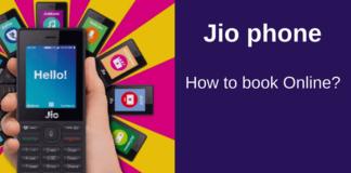 book jio Phone online