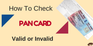know your pan card active