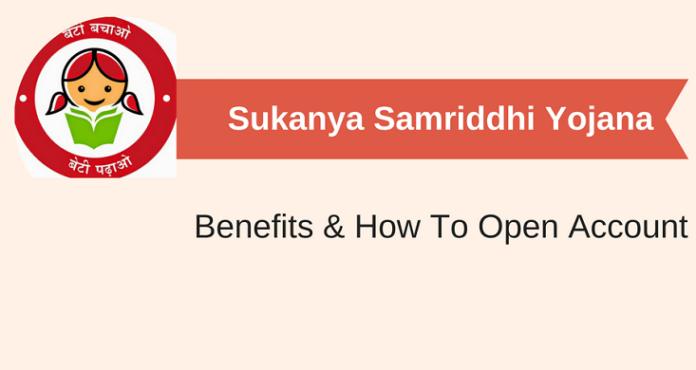 Sukanya Samriddhi yojana account