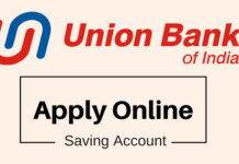 apply online union bank of india saving account