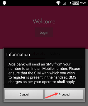 Axis Mobile Activation guide