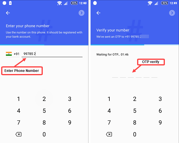 Google Tez register