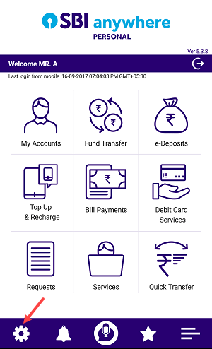 sbi anywhere pin login