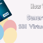 SBI virtual card online generate