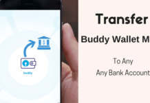 sbi buddy transfer money to bank account