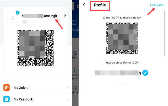 Change Paytm Mobile number