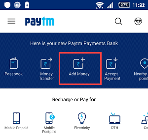send/transfer sbi buddy money to paytm