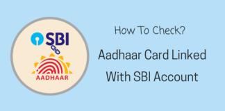 check sbi account aadhaar linking