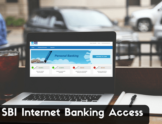 lock sbi internet banking