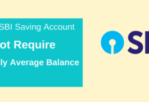 sbi saving account not require monthly average balance